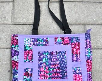 Purple Shoulder bag, Icelandic design handmade in Australia
