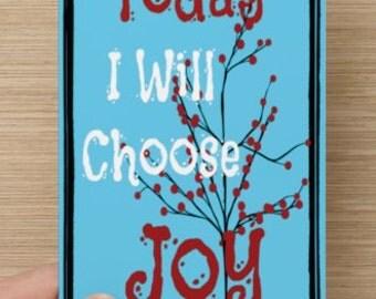 Today I Will Choose Joy~Greeting Card~Self-esteem~Empowerment~Celebration, Uplifting, Encouragement, affirmation, inspiration