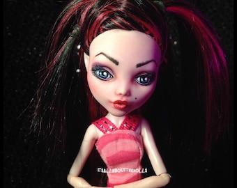 OOAK Custom Draculaura Monster High doll