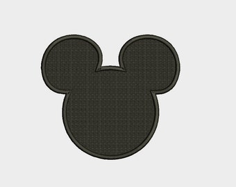 Mickey Mouse Embroidery Design - 4 Sizes Instant Download