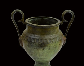 Ancient Greek Bronze Urn
