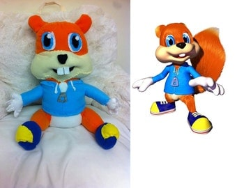 Conker Plush Toy