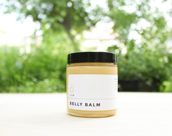 Belly Balm 2 oz - Organic Pregnancy - Vegan Body Butter Vegan Skincare Belly Butter Stretch Mark Lotion