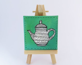Mini Painting - Green Tea