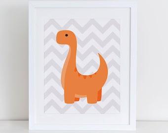 Dinosaur Art Print, Dinosaur Printable, Cute Dinosaurs Art Print, Nursery Art Print, Nursery Decor, Instant Download, Dinosaurs Wall Art
