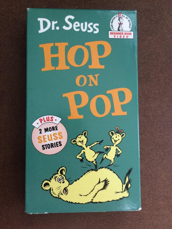 Dr seuss hop on pop vhs 1991 random house vintage classic for Classic house 1991