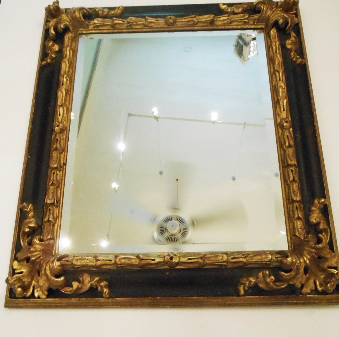 Framed beveled mirror in highest quality carved spanish style for Mirror quality