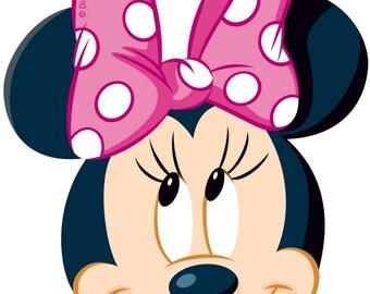 MINNIE MOUSE - Disney - Instant Download - Digital Printable Design - Minnie Mouse Printable