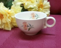 Vintage Universal Ballerina Thistle Pattern - Demitasse Cup  - PERFECT Colorful, Oven Proof, Union Made in U.S.A.