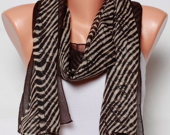 brown scarf Leopard scarf Spring Scarf mothers day Gift Ideas For her Summer Scarf Womens Scarves Womens Fashion scarves womens Accessories