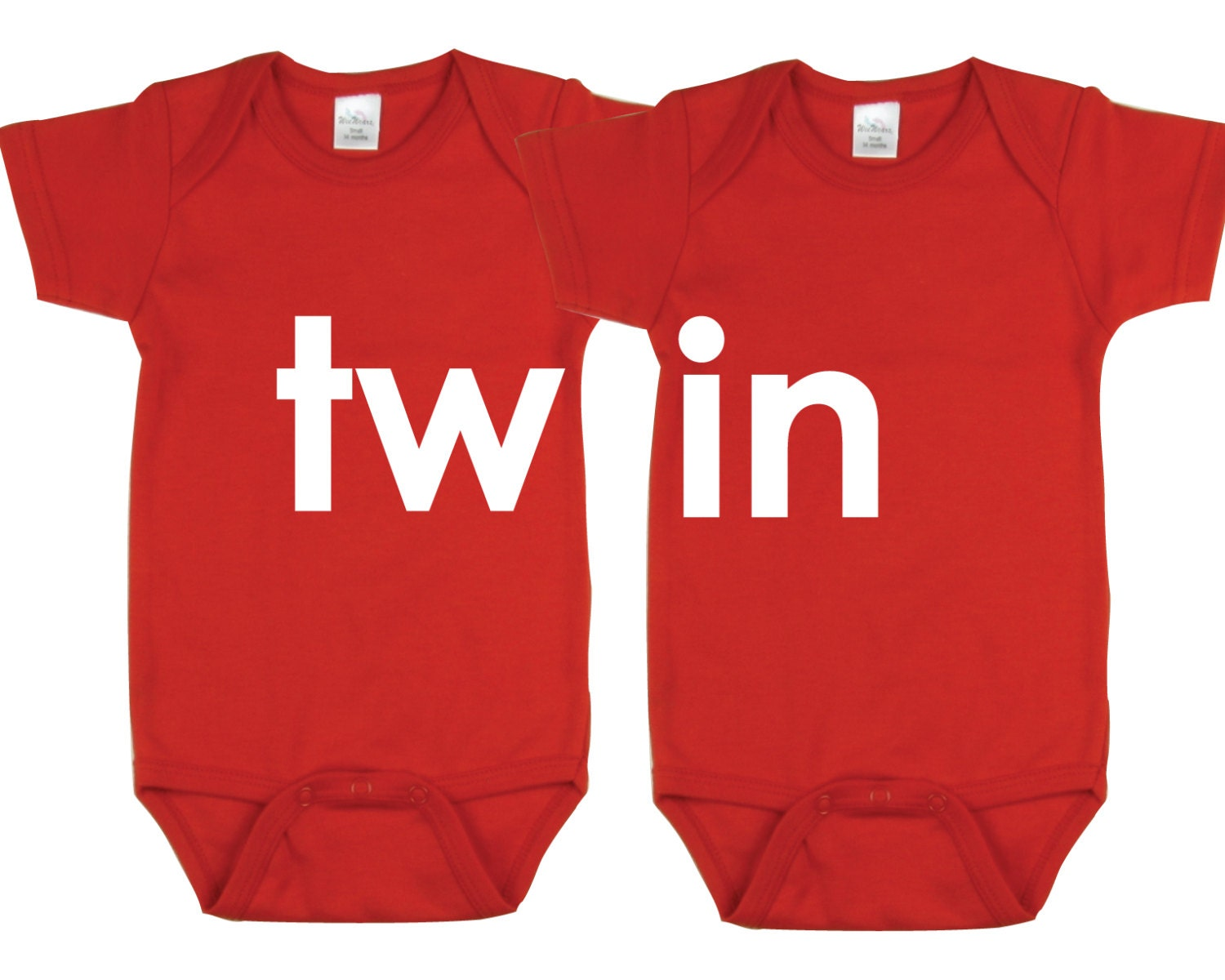 cute twin onesie  etsy, Baby shower