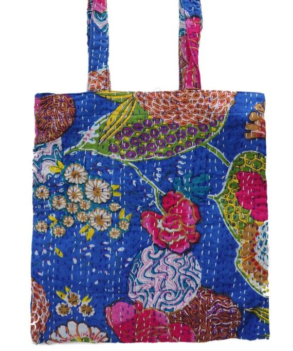 Boho India Print Slouchy Bag Boho Festival Chic