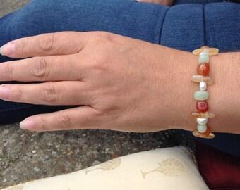 Multi Gemstone Summer Bracelet