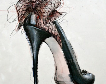 high heels finARTprint