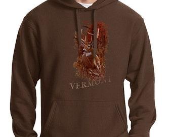 Vermont - Deer Sweatshirt