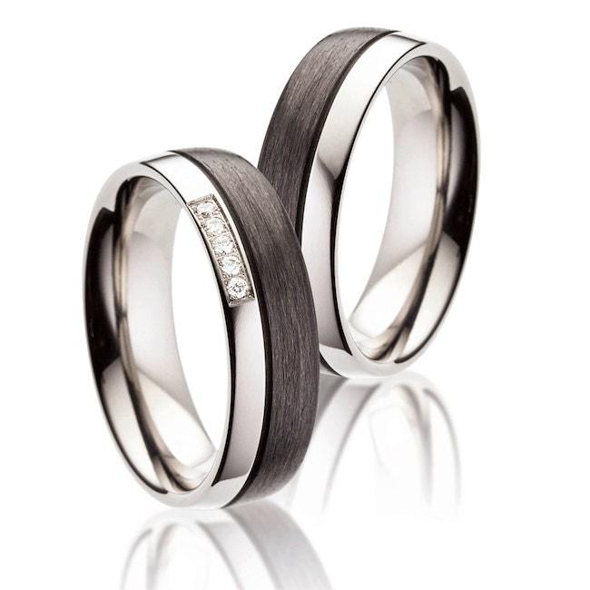 unique wedding rings zoom