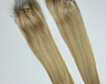 Human Hair Extension Skin Weft - Straight