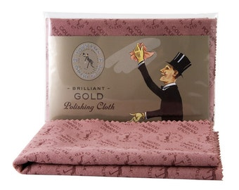 Gold Polishing Cloth, Jewellery Care, Jewelry Cleaner