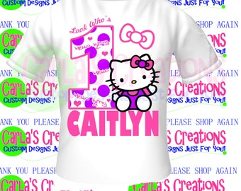 Hello Kitty Inspired t-shirt