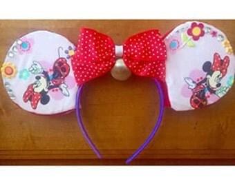 Minnie Mouse Custom Mickey Ear Headband