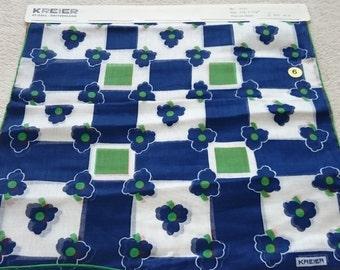 Amazing Vintage Kreier Cotton Handkerchiefs - 1970s Stock - Unused and Perfect