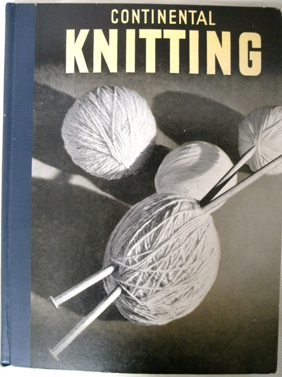 Continental Knitting 1948 by Esther Bondesen Vintage