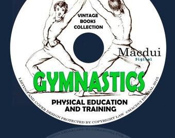 Gymnastics Vintage Books Collection 91 PDF E-Books 1 DVD Indian Club,Calisthenic,body building,Posture exercises,Trapeze,Swedish gymnastics