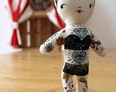 """The Tattooed Lady Doll - """"Il Circo Bizzarro"""" Series"""