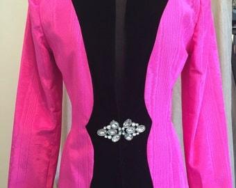 1980's Constance Saunders for Richard Warren Evening Jacket PRICE REDUCED!