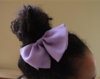 Lavender Purple Hair Bow