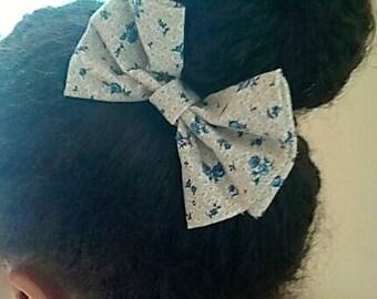 Beautiful Floral Hair Bow