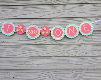 I Am One Girl Paper Banner