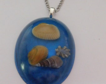 domed shell necklace