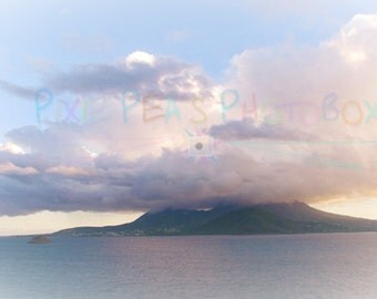 Nevis with Cloud
