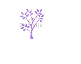 Tree Branch Stencil