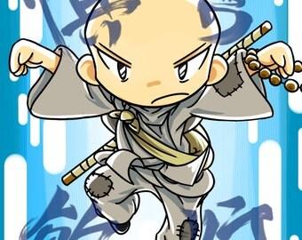 MTG Monk token (Set of 4)