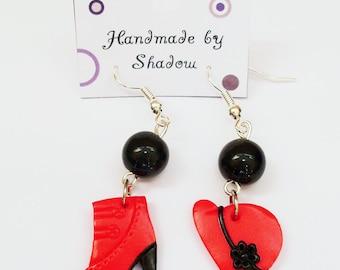 Dangle earrings, boho earrings, pendant earrings, charm earrings, chic and fashionable, gift for her, earrings for girls