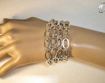 Unique silver Bracelet