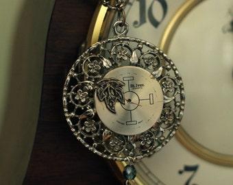 Steampunk Vintage Flora Necklace