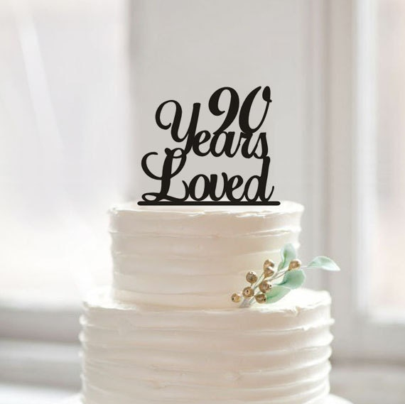Cake Decorating Ideas For A 90 Year Old : 90th Anniversary Cake Topper90th Birthday Cake by Muggses ...