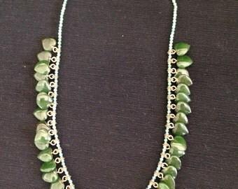 Tiny heart beaded necklace