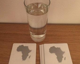Square Africa Coaster