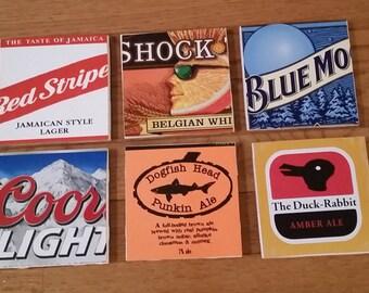 Beer 6 Pack Coasters (Set of 4)