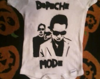 Depeche Mode baby Onesie kid's tee toddler 80's 1980s