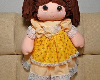Cloth handmade doll.
