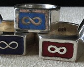 Hand made Rustic Silver Métis Ring (Signet or Band)