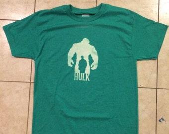 Hulk Silhouette Bleach Shirt