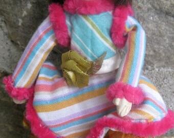 OOAK, Mixed Media Art Doll, Tanya, Comfort Doll