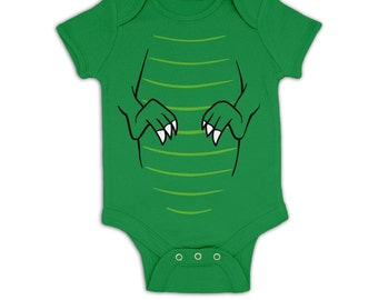 T-Rex Costume baby grow