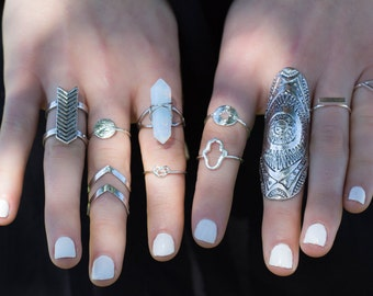 Mirage Knuckle Ring